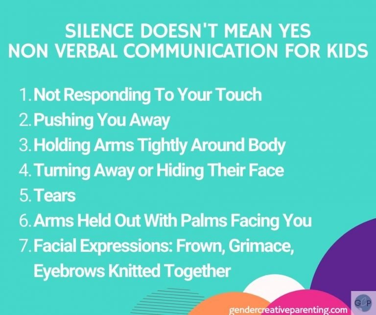Consent for kids non verbal communication